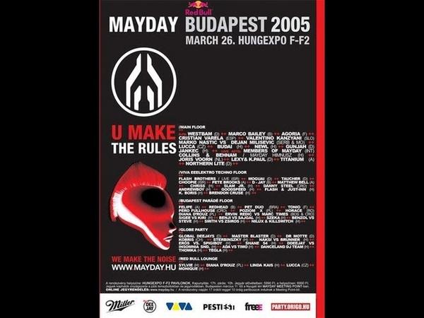 Mayday Budapest 2005 03 26 Hungary Hungexpo F F2 VHS