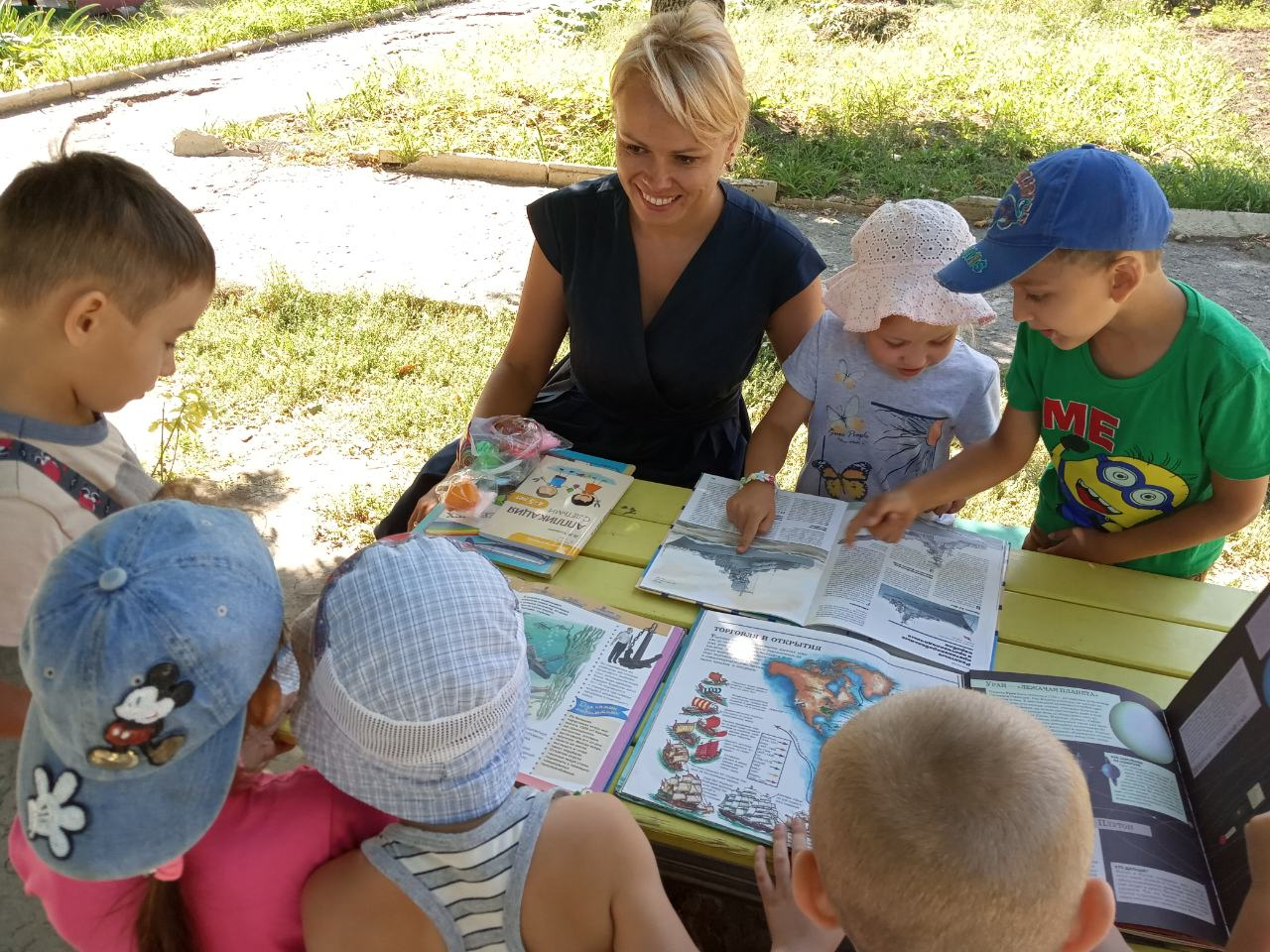 отдел внестационарного обслуживания, Донецкая республиканская библиотека для детей, лето с библиотекой