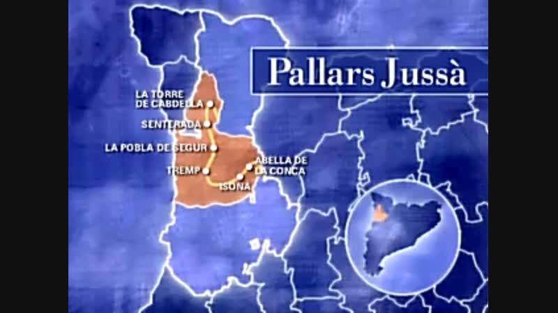 Catalunya des de l'aire 1999 Alt Pirineu i Aran Pallars Jussà