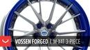 Vossen Forged M X4T 3 Piece Wheel