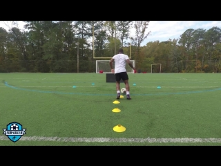 Score more goals! - soccer finishing drills (agility, shooting, technique) _ fdb soccer