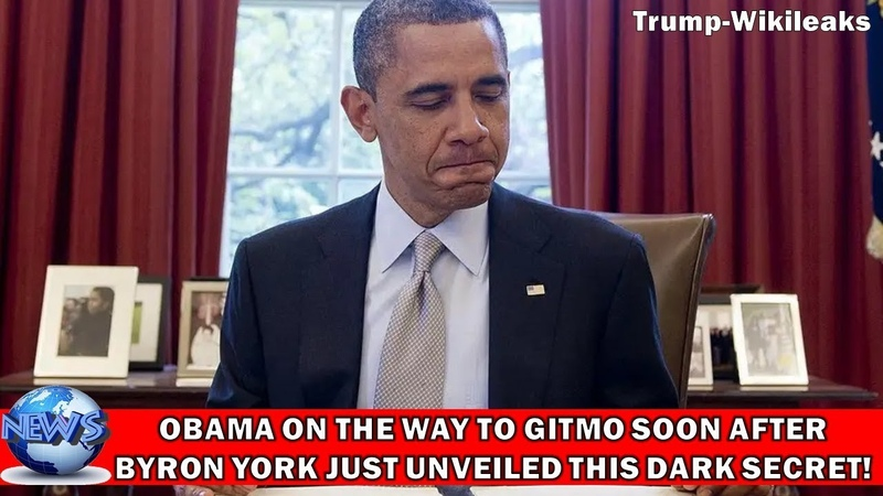 OMG OBAMA ON THE WAY TO GITMO SOON AFTER BYRON YORK JUST UNVEILED THIS DARK SECRET ON LIVE