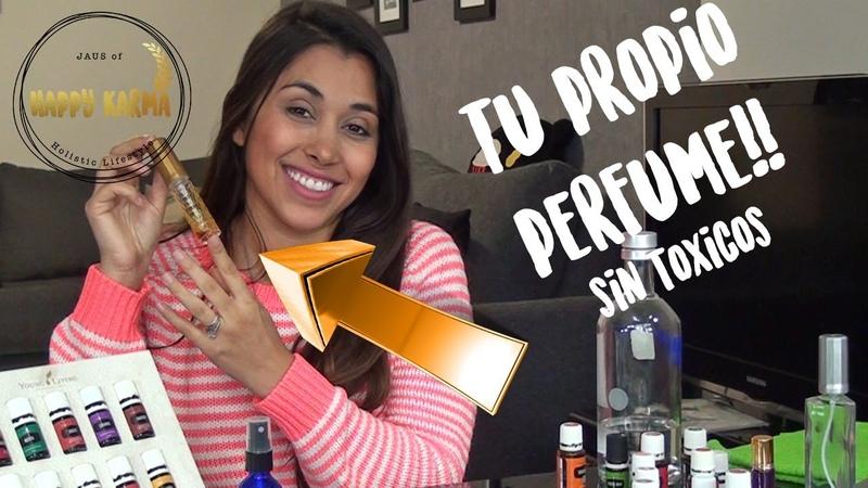 Preparando tu propio perfume con aceites esenciales!!