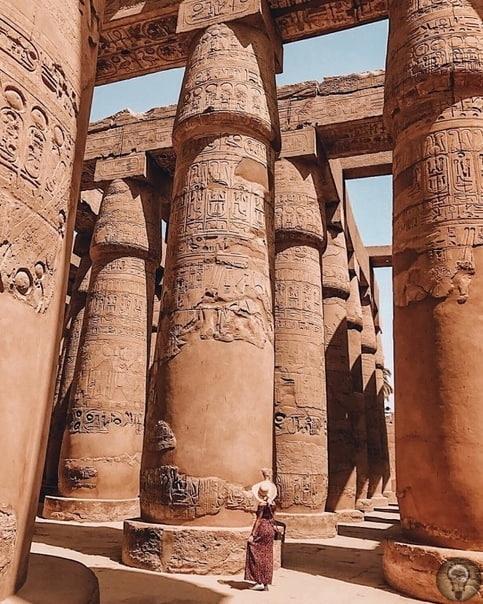 Жемчужина Египта  Карнакский храмовый комплекс.