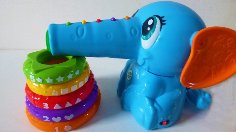 Leapfrog stack and tumble elephant activity toy