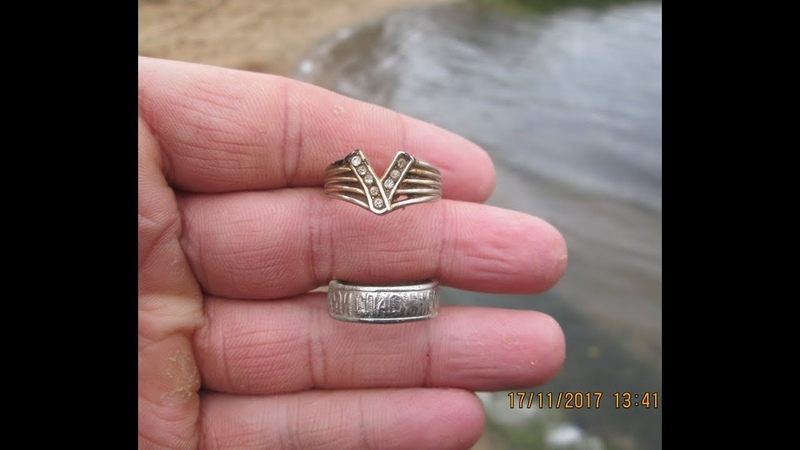 33.Поиск монет и ювелирных изделий на пляже озера Амазонка (Мазонка)