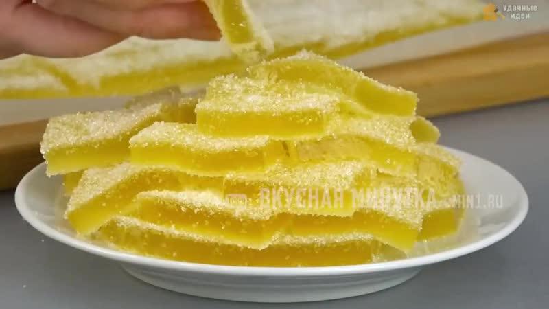 Делаем апельсиновый мармелад