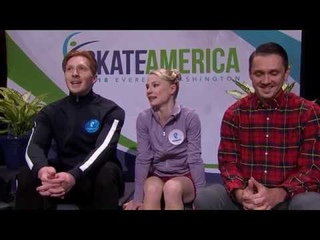 Evgenia TARASOVA /  Vladimir MOROZOV  .SP -- Skate America 2018 No Commentary