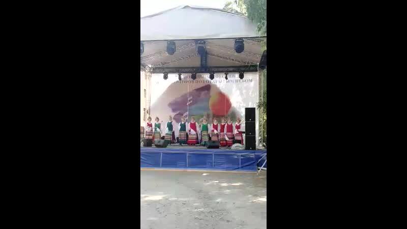 Группа Маслянинского русского народного хора
