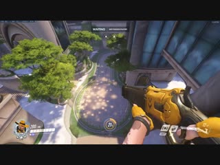 Ashe spot Numbani last point