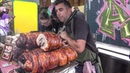 Crispy Fat Belly Pork and Sausage Sandwiches London Street Food