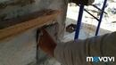 Бесполезные подмазки бетона, не тратье время и не тратьте материал на бестолковую работу