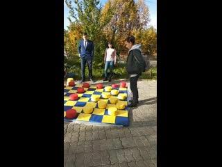 Открытие шахматно-шашечного клуба в п. Кугеси #таванен