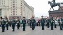 Военный оркестр 154 отдельного комендантского Преображенского полка 17.08.19 в Александровском саду