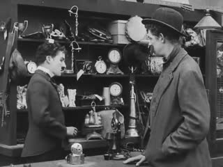 Charlie Chaplin - The Pawnshop full movie HD, 1916