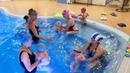 Занятие в бассейне группы Aqua baby тренер Ярослава Косулина