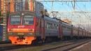 Электропоезд ЭД4М-0335 сообщением Крутое - Москва Курская, следует по 2 пути
