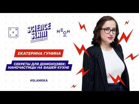 Екатерина Гунина: 'Секреты для домохозяек: наночастицы на вашей кухне'