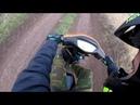 Кто же попал в кадр Полюбому он этого не хотел Покатушки на скуторе ABM storm zw50qt часть 2