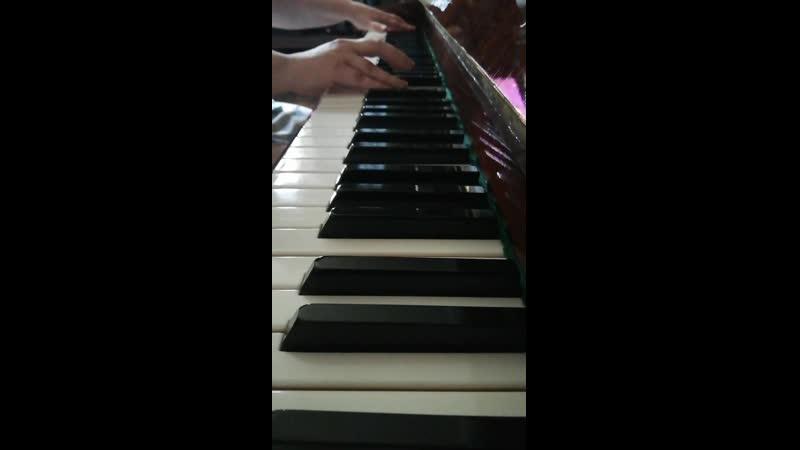 ОСТ из сериала Алондра Alondra Jose Pablo Gamba кавер версия рояль без вокала