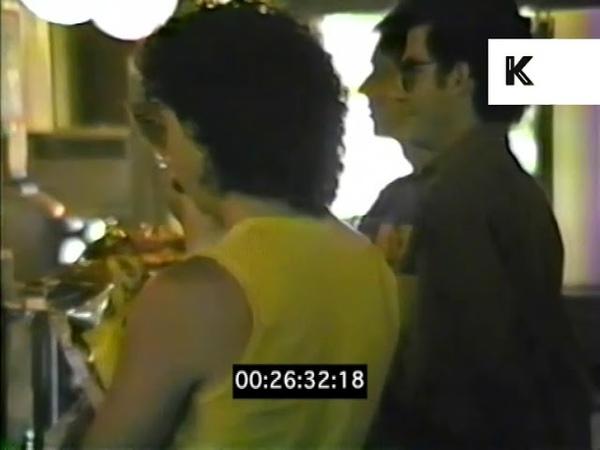 1980s Michael Musto in Howard Johnsons   Kinolibrary x Nelson Sullivan