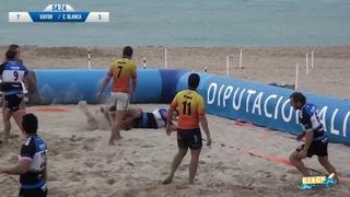 Final masculina y entrega de premios Costa Blanca Beach Rugby 2019