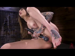 Rocky emerson - sexy alt girl rocky emerson has nonstop orgasms from fucking machines