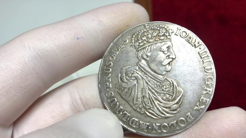 Единственный гданьский талер Яна III Собеского