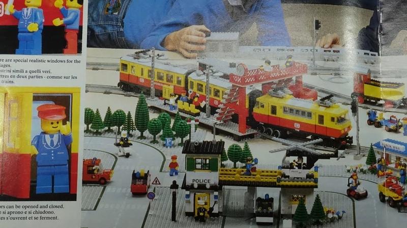 LEGO Train Catalogue 1981 Railway