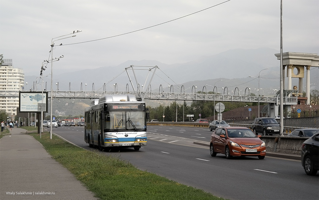 Проспект Аль-Фараби, Алматы 2019