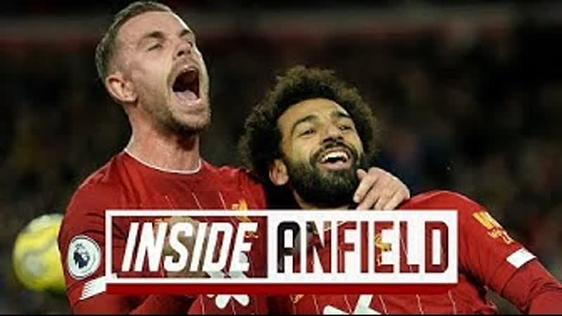 Inside Anfield Liverpool 2 1 Spurs Exclusive behind the scenes from the Reds' comeback