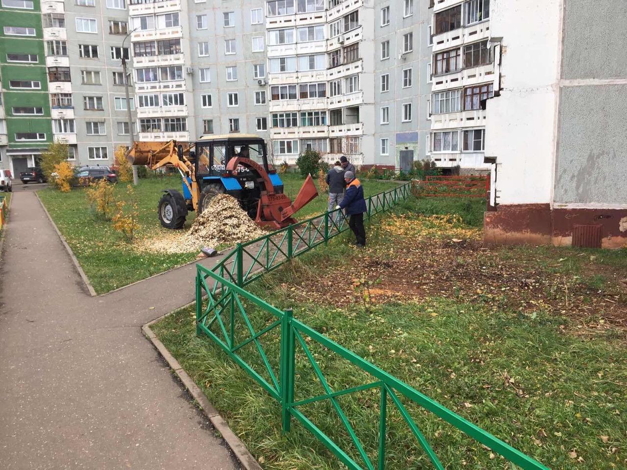 Улица Ульяновская дом 6 дробление веток