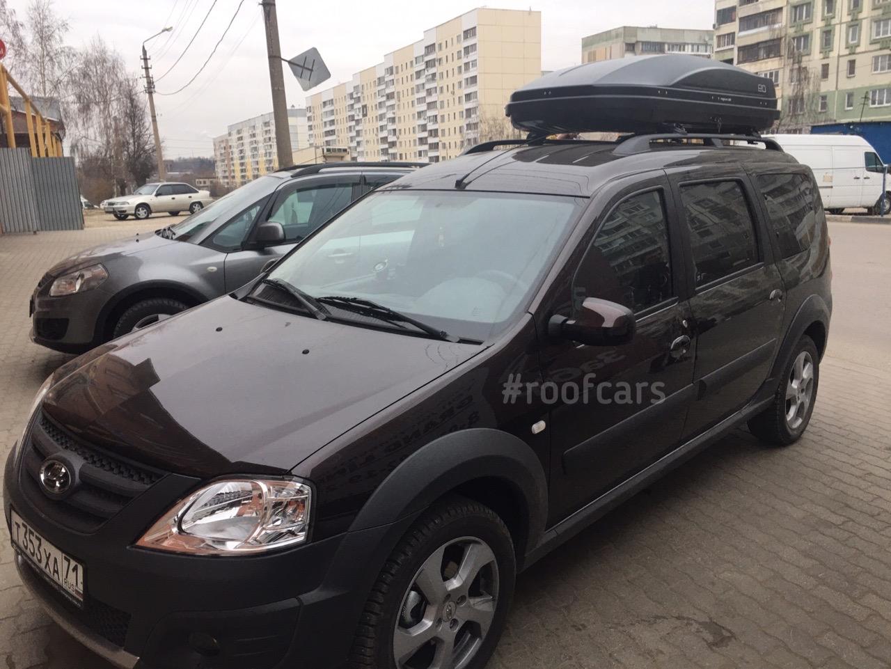 Автобокс и багажник для Лада Ларгус / Ларгус Кросс