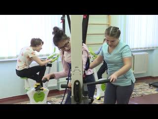 Дети уфимского реабилитационного центра начнут посещать обновленный зал лечебной физкультуры