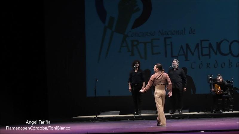Angel Fariña XXII Concurso Nacional de Arte Flamenco Córdoba
