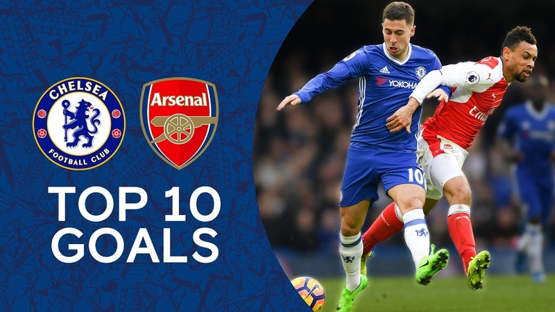 Essien Screamer Hazard's Incredible Solo Goal Top 10 Goals Against Arsenal Chelsea Tops