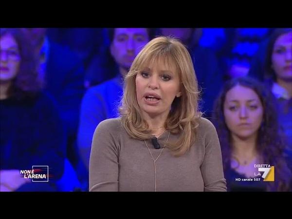 Alessandra Mussolini commenta le immagini del film 'Sono Tornato'