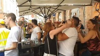Altercation entre gilets jaunes et clients d'un restaurant à Toulouse