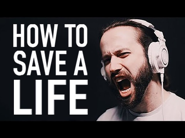 How to Save a Life - The Fray (Rock Cover by Jonathan Young)