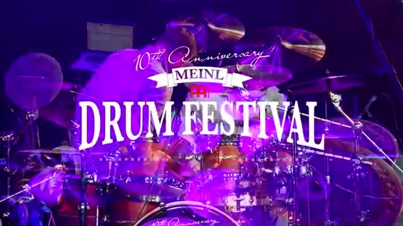 """MEINL DRUM FESTIVAL 2015 Matt Garstka Ka$cade"""" Animals As Leaders Drrrumlessss"""