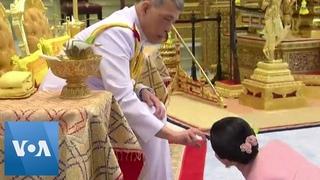 Король Таиланда женился на своем телохранителе.
