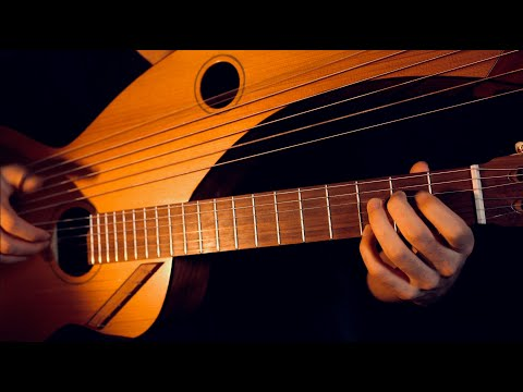 Can't Help Falling in Love 18 String Harp Guitar Cover Jamie Dupuis