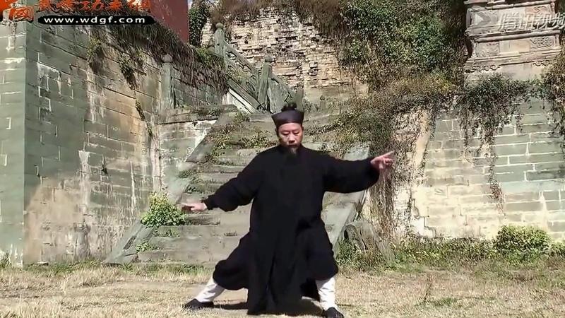 Wu Dang Zhang San Feng Taiji 28 by Grandmaster Zhong Yun Long 鐘雲龍 of Zhang San Feng Academy