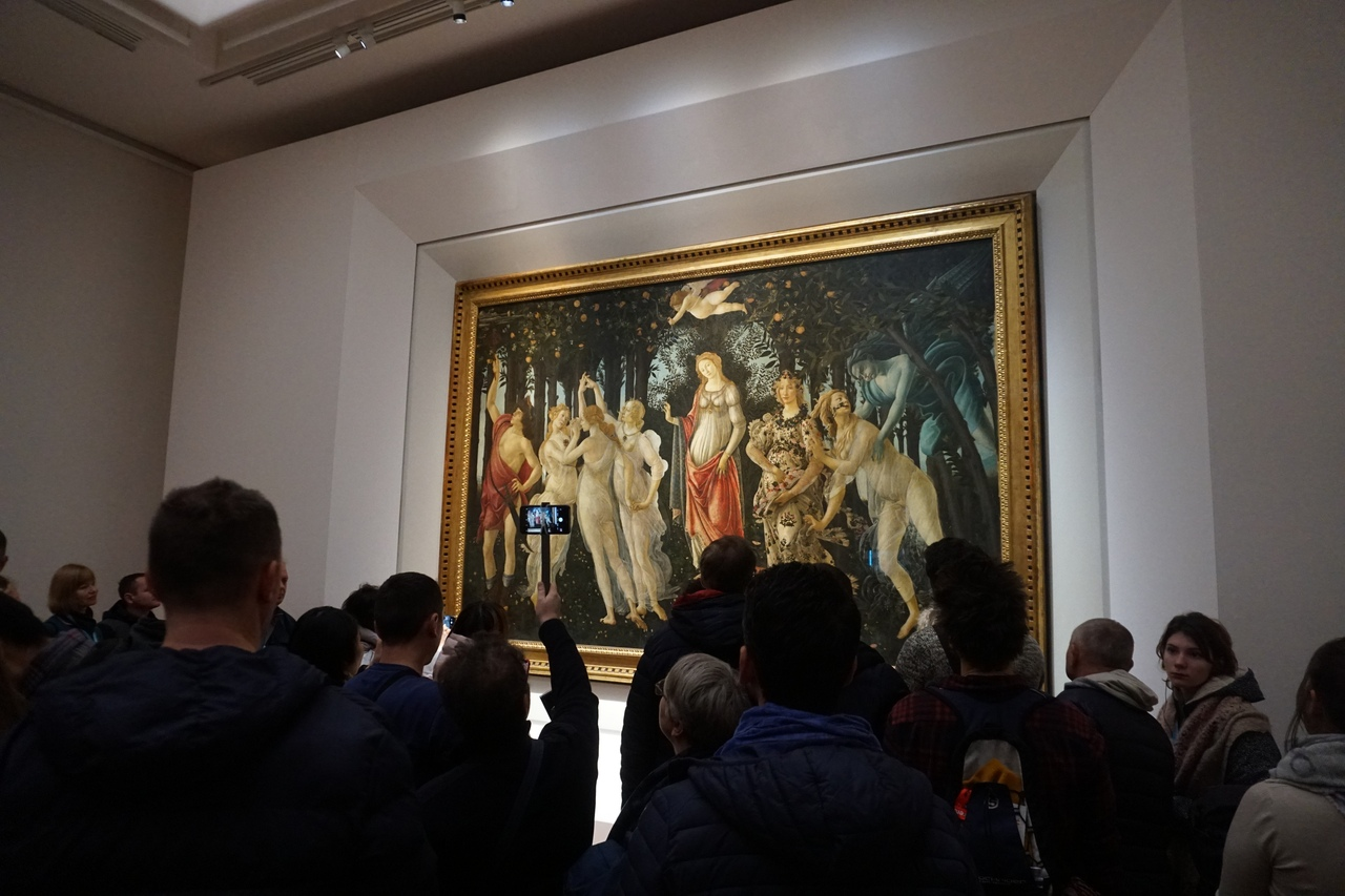 Cокровища галереи Уффици во Флоренции