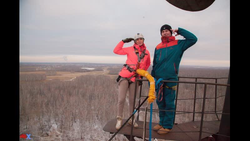 Anastasiya M. прыжок FreeFallProX команда ProX74 объект AT53 Chelyabinsk 2019 1 jump RopeJumping
