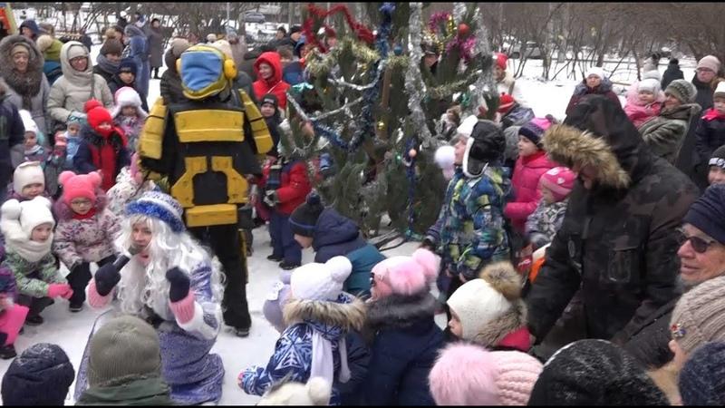 ЭкоВоз организовал для тольяттинцев зажигательные Ёлки