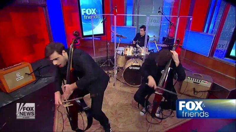 Dusan Kranjc with 2CELLOS on FOX News NYC