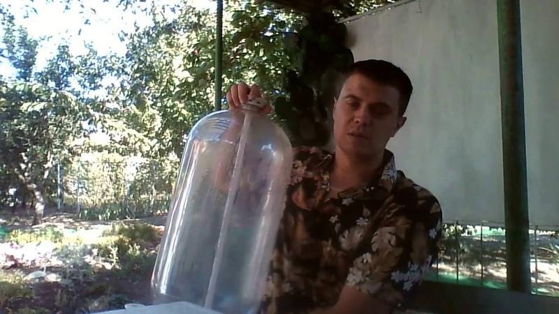 Бюджетная емкость для сбраживания Гидрозатвор своими руками