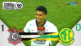 Corinthians 1 x 0 Mirassol - Gol & Melhores Momentos COMPLETO - Campeonato Paulista 2020