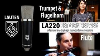 Lauten Audio Series Black LA-220 FET Condenser Microphone - Trumpet & Flugelhorn